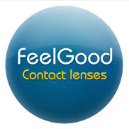 logo de Feel Good Contact Lenses