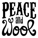 logo de Peace and Wool